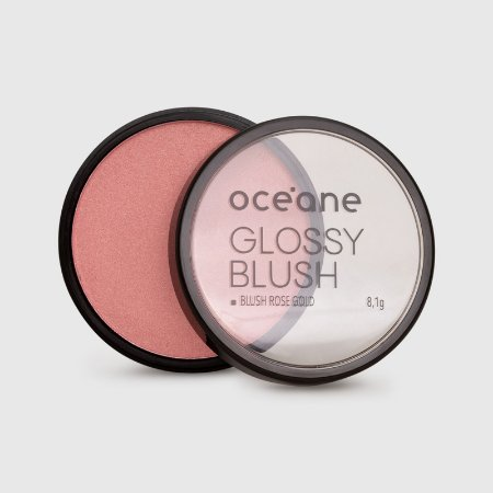 Glossy Blush Oceane - Blush Rose Gold 8g
