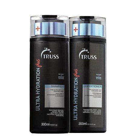 Kit Ultra Hydration Plus Truss - shampoo e condicionador 300 ml