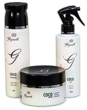 Kit Coco - shampoo, mascara e leave-in 200 ml