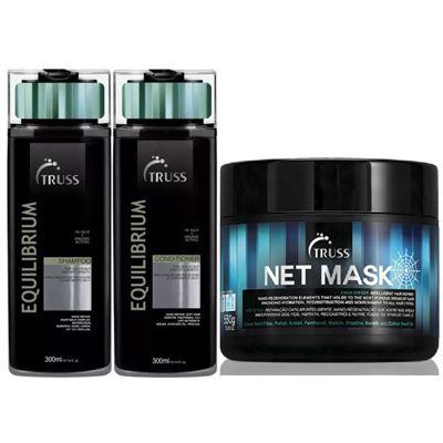 Kit Equilibrium Mask - shampoo e condicionador 300ml e mascara 550g
