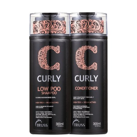 Kit Curly Low Poo Truss - Shampoo e condicionador 300ml