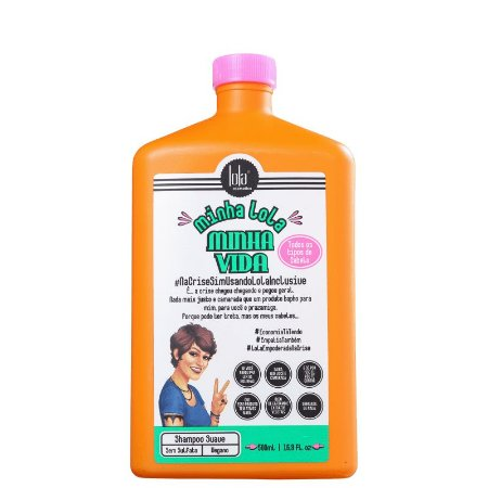 Shampoo Minha Lola Minha Vida - 500ml