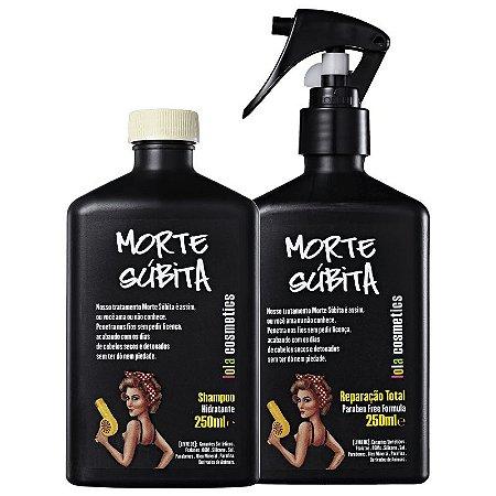 Kit Morte Súbita - Shampoo 250ml e Spray 250ml