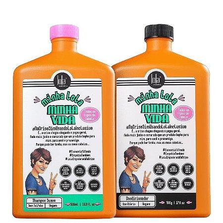 Kit Minha Lola Minha Vida - Shampoo e Condicionador