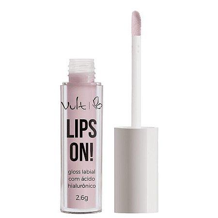 Gloss Lips On Vult - Gloss com acido hialuronico - 2,6g