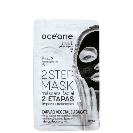 Mascara facil 2 steps - Carvão vegetal e abacate - 13g