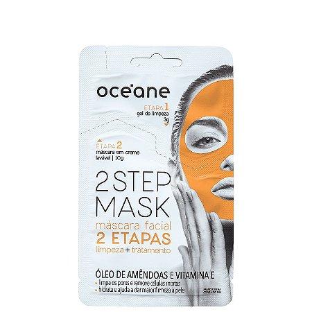 Mascara Facial 2 steps Oceane - Oleo de amendoas e vitamina E - 13g