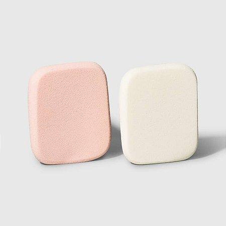 Kit Natural Skin Oceane - Esponjas retangulares para maquiagem