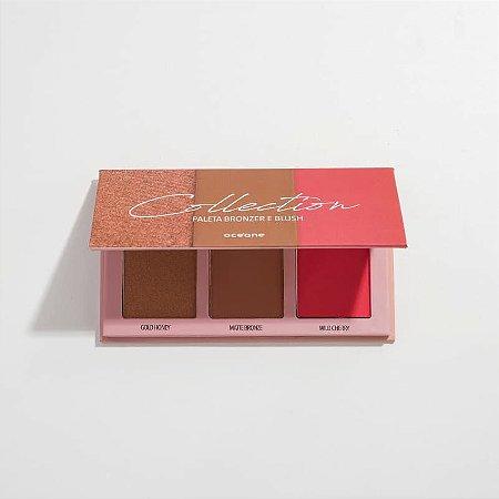 Paleta bronzer e blush - Collection