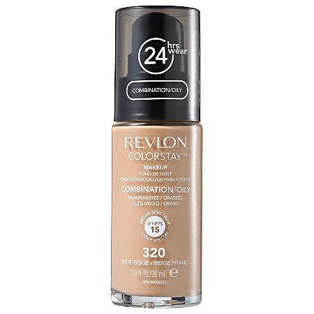Base liquida colorstay Revlon - Cor true beige 320 - 30ml