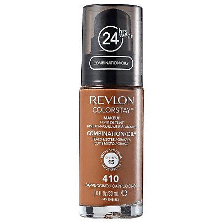 Base liquida ColorStay Revlon - Cor Capuccino 410  - 30ml
