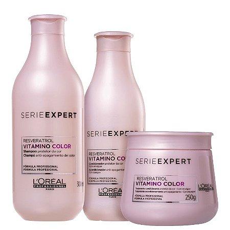 Kit Vitamino Color - Shampoo 300ml Condicionador 200ml e Mascara 250g