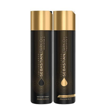 Kit Dark Oil Sebastian - Shampoo 250ml e Condicionador 250ml