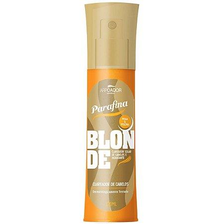 Clareador Solar para Cabelos Parafina Blonde - Parafina Bronze - 120ml