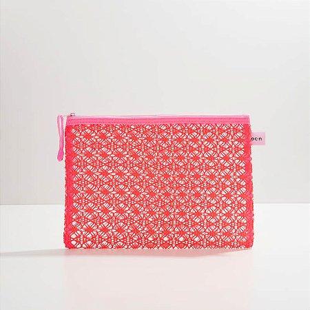 Necessair Lace Bag Pink Oceane - Média