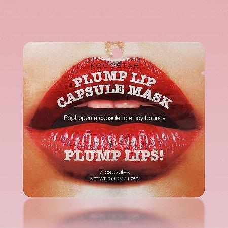Plump lip capsule mask Kocostar - Capsulas de mascara labial para volume