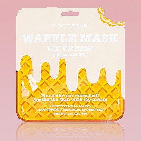 Waffle Mask Ice Cream Kocostar - Mascara waffle de sorvete