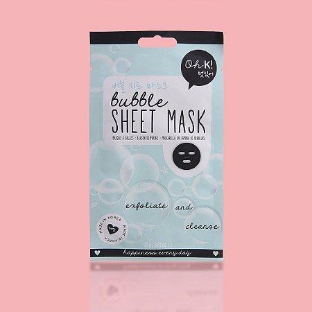 OH K! Bubble Sheet Mask - Mascara bolha de limpeza