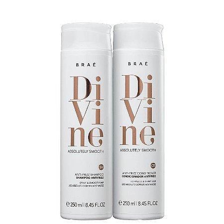 Kit Divine Brae - Shampoo 250ml e Condicionador 250ml