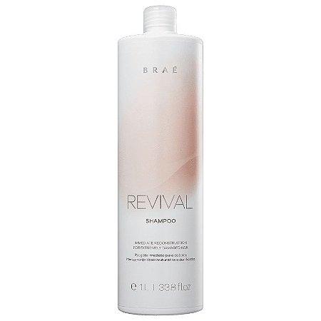 Shampoo Resgate Imediato Revival Brae - 1L
