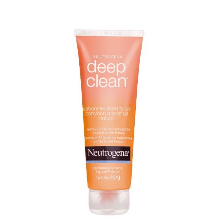 Deep Clean Grapefruit Neutrogena - Sabonete Líquido Facial 80g