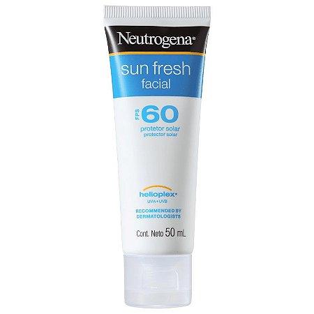 Sun Fresh Facial FPS 60 Neutrogena - Protetor Solar Facial 50ml