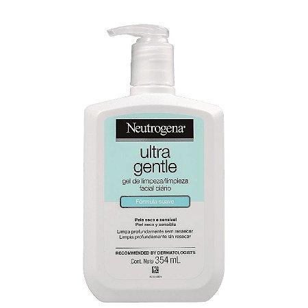 Ultra Gentle Neutrogena - Gel de Limpeza Facial 354ml
