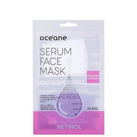 Serum Face Mask Retinol Oceane - Mascara facial com retinol 20ml