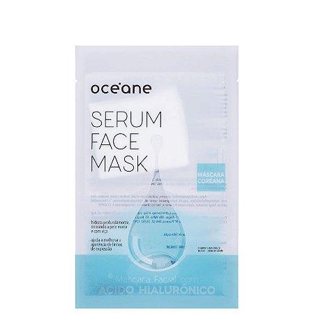 Serum Face Mask Acido Hialurônico Oceane - Mascara facial com acido hialurônico 20ml