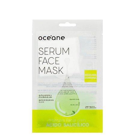 Serum Face Mask Acido Salicílico Oceane - Mascara facial com acido salicílico 20ml