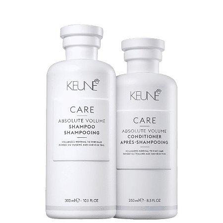 Kit Absolute Volume Keune - Shampoo 300ml e Condicionador 250ml