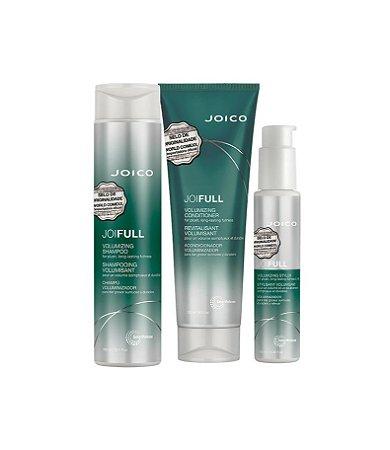 Kit Joifull Joico - Shampoo 300ml Condicionador 250ml e Leave - in 100ml