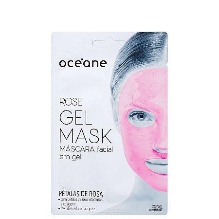 Rose Gel Mask Oceane - Mascara facial em gel 15g