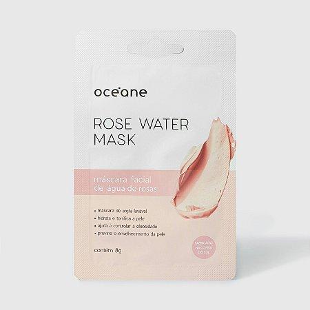 Rose Water Mask Oceane - Mascara facial em gel lavável