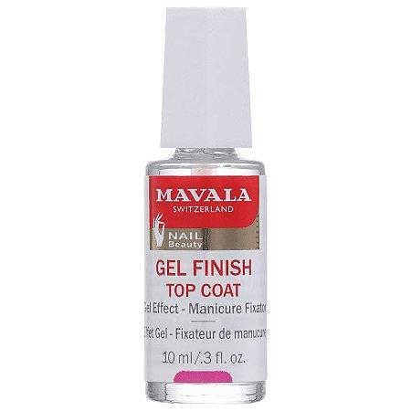 Gel Finish Top Coat Mavala - Finalizador de Efeito Gel 10ml