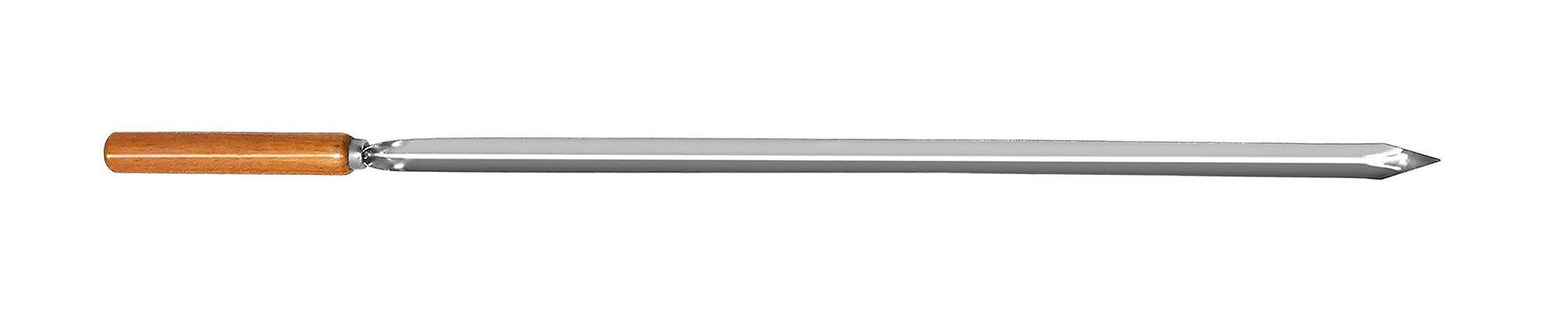 Espeto Inox para Costelão 105 cm x 1,2 mm