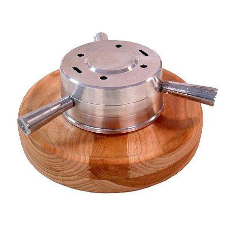 Porta Espeto Alumínio Fundido Base MD 31x12cm   -