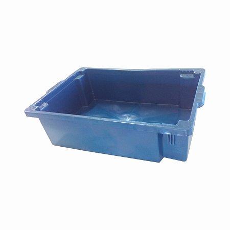Caixa Colorida Sem Furo PEAD 67x45x19,3 cm - 36 litros  -