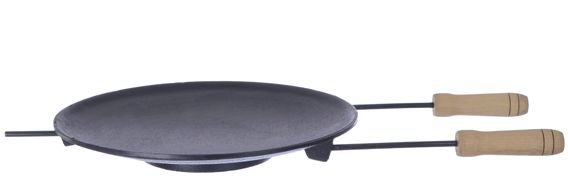 Chapa Ferro Fundido para Churrasco Ø 34 cm  -