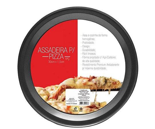 Forma Antiaderente para Pizza 30cm x 1,5cm Alt.