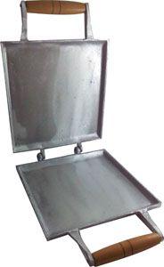 Grill Duplo de Alumínio Fundido