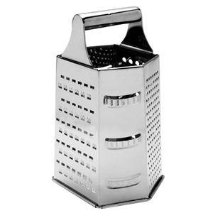 Ralador Inox 06 Faces 09 pol. 22x14x11cm  -