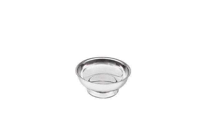 Taça Inox com Pedestal Ø 9,0x4,3cm -