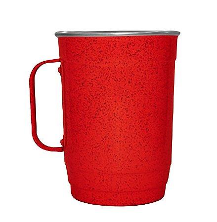 Caneca 110-D 1000ml Vermelho Mesclado