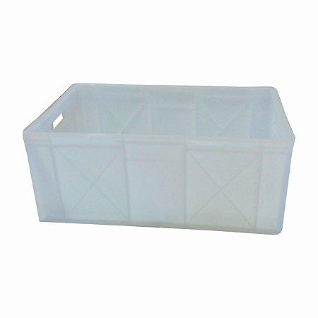 Caixa Natural PEAD Aberta 60x39,8x24,3 cm - 50 litros  -