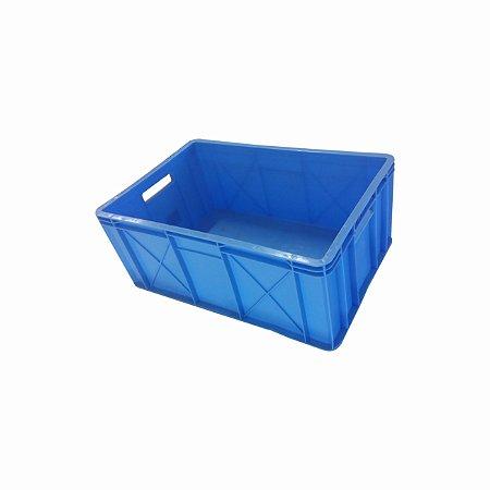 Caixa Colorida PEAD Aberta 60x39,8x24,3 cm - 50 litros  -