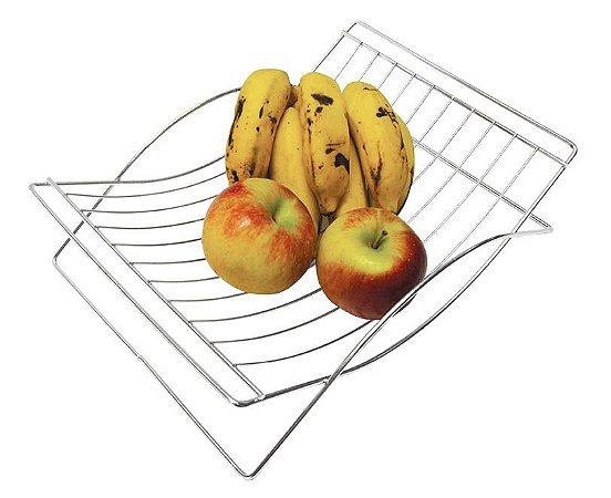 Fruteira de Mesa Simples Aço cr