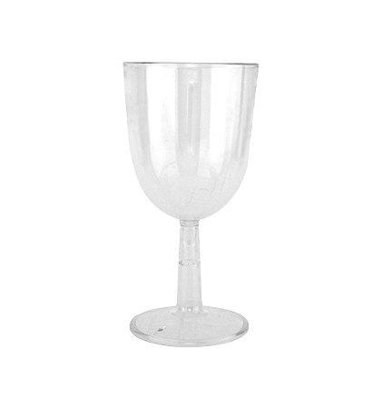 Taça Vinho PS Transp. 230 ml Pé Cristal
