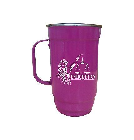 Caneca 101-D 500ml Pink