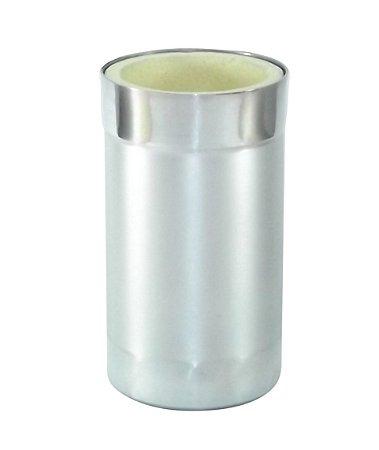 Porta Latão Alumínio Escovado
